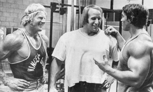 arnold in pumping iron