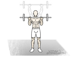 BEST MASS EXERCISES 5 STANDING MILITARY PRESS