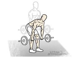 BEST MASS EXERCISES 6 STRAIGHT LEG DEADLIFTS